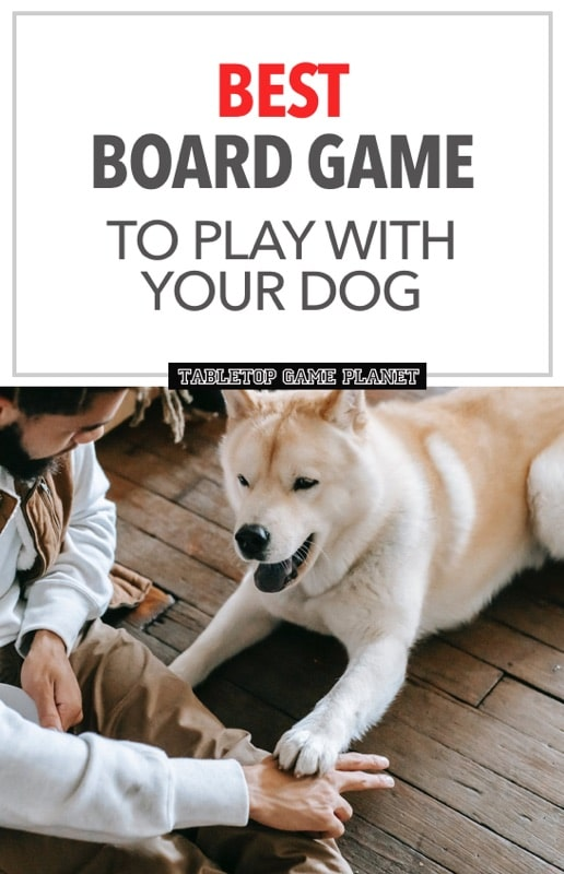 Board games that are fun to plays with your dogs
