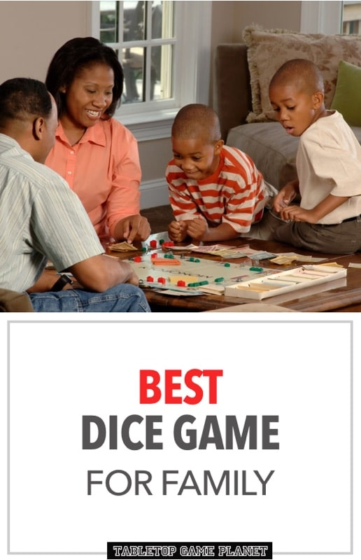 Dice game for family