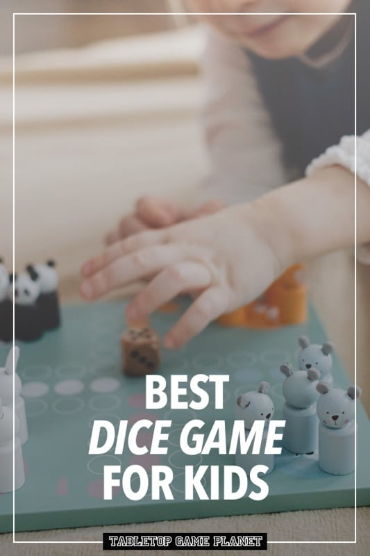 Dice game for kids