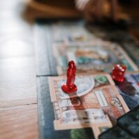 Dice games for two players