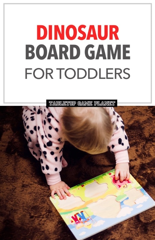 Dinosaur board games for toddlers