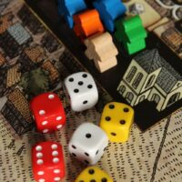 Drinking dice games