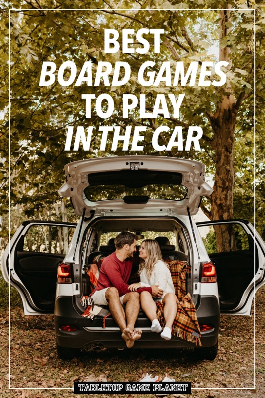 Best board games to play in car