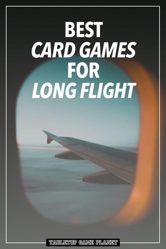 Best card games for long flights