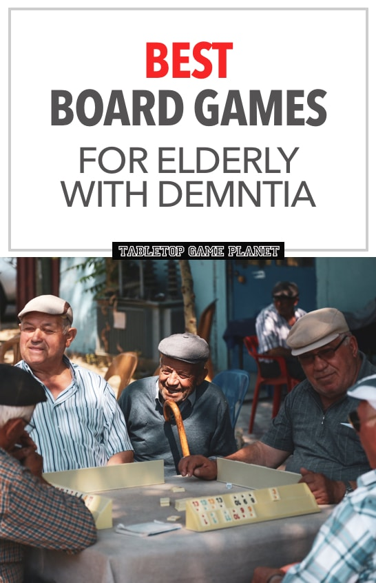 Best board games for elderly with dementia