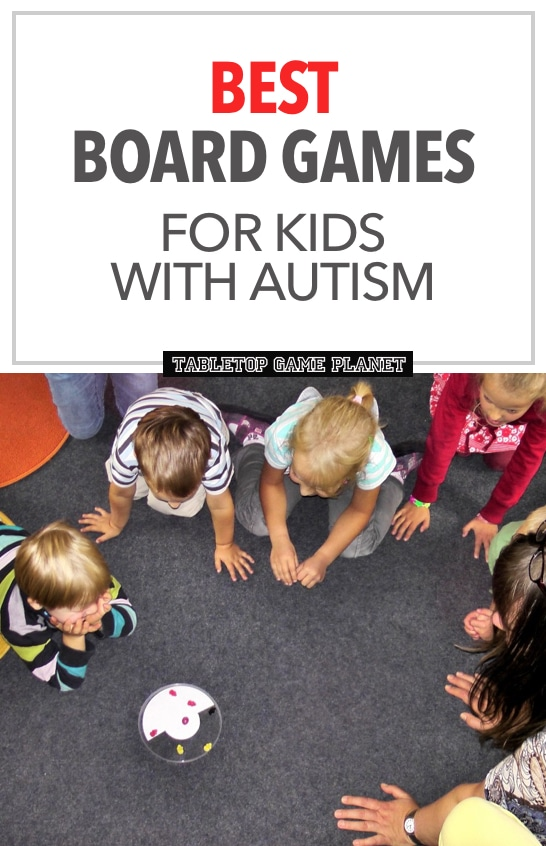 Best board games for kids with autism