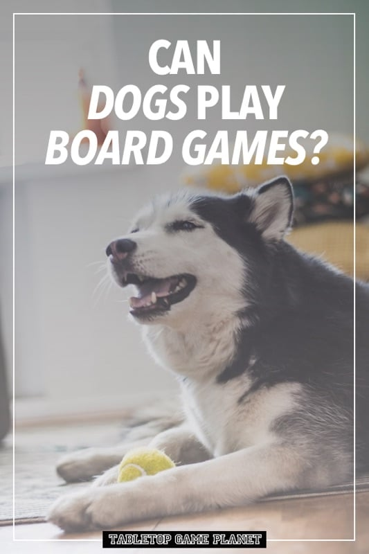 Can dogs play board games