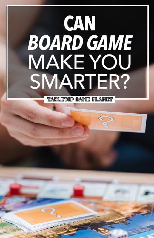 Do board games make you smarter