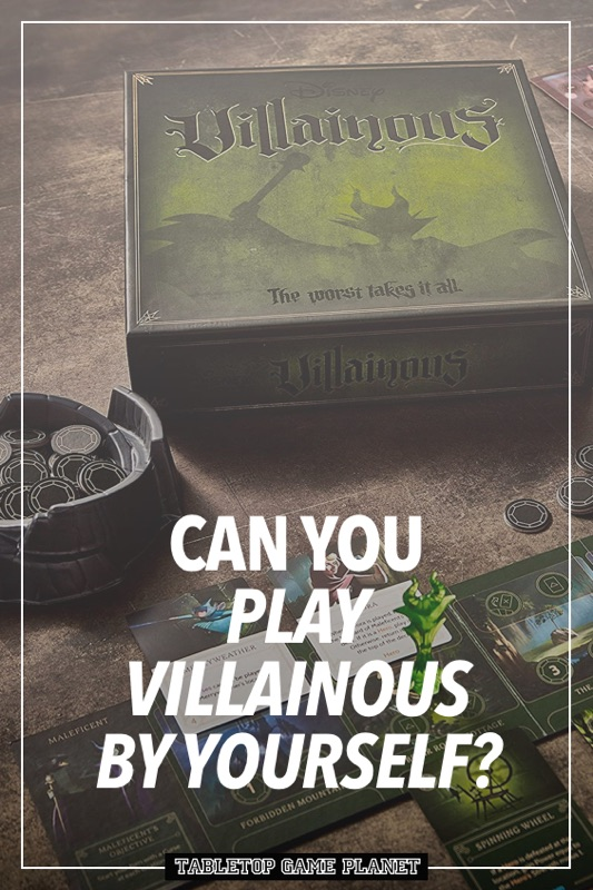 How to play Villainous by yourself