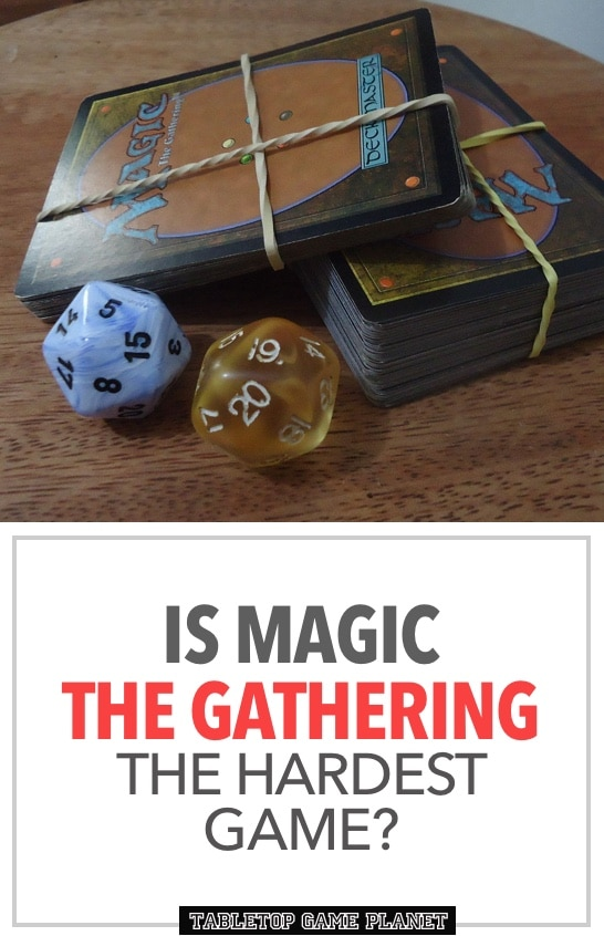 Is Magic the Gathering difficult