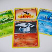 Best way to set up Pokemon card game