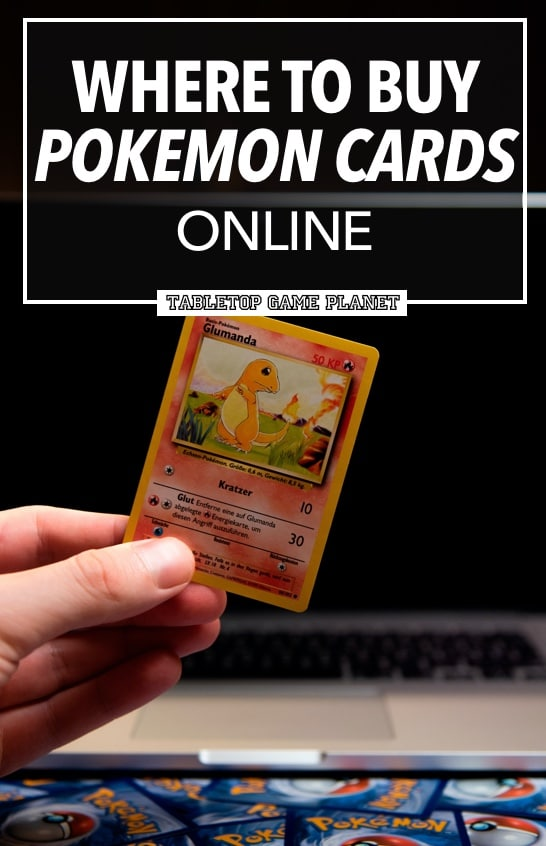 How to buy Pokemon cards online