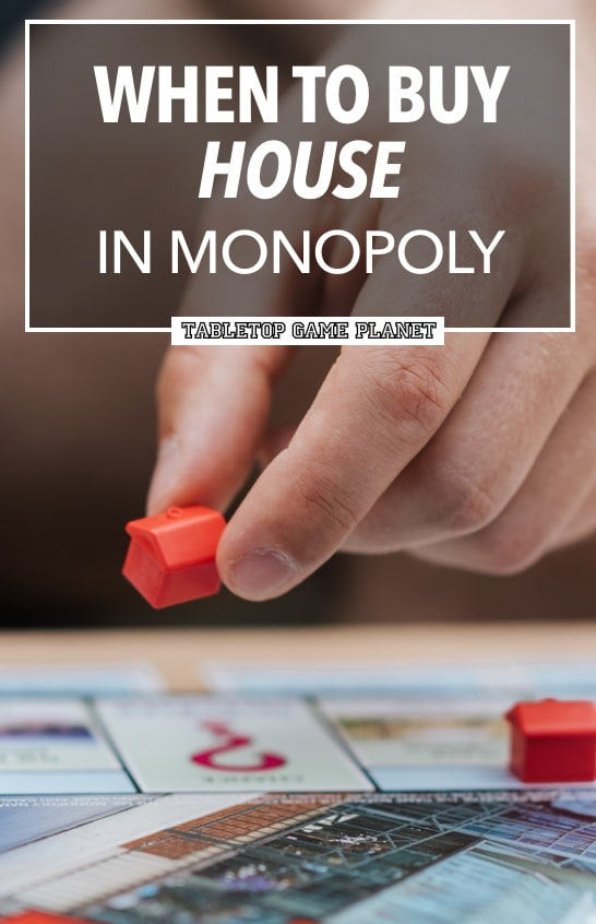 How to buy houses in Monopoly