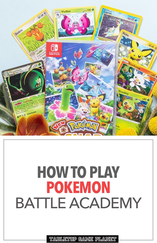 How to play Pokemon Battle Academy