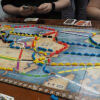 Is it ok to trade train cards in Ticket to Ride