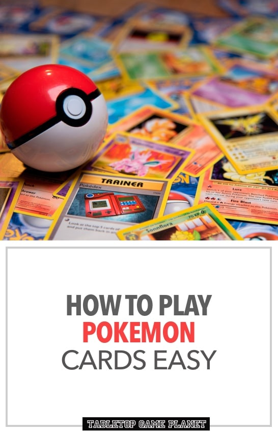 How to to play Pokemon cards