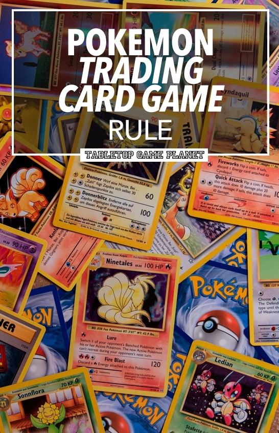 Quick Pokemon trading card game rules