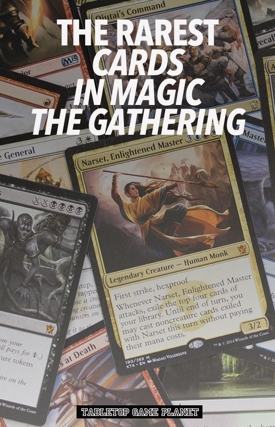 What is the rarest card in Magic the Gathering