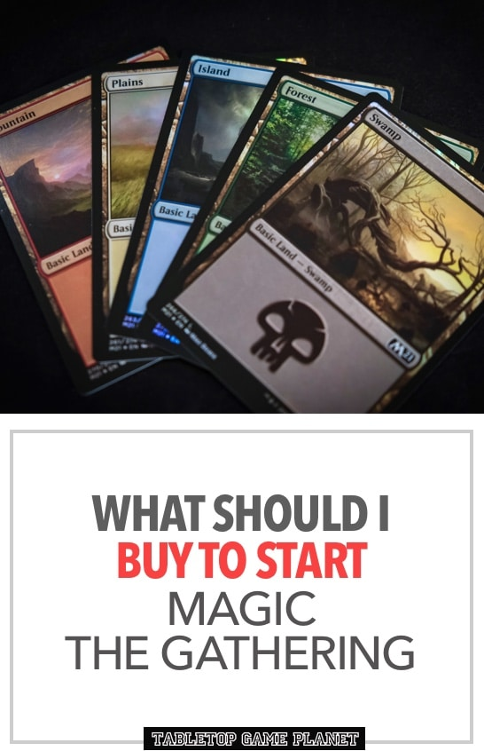 What to buy to start Magic the Gathering