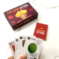 Exploding Kittens run out of cards in hand