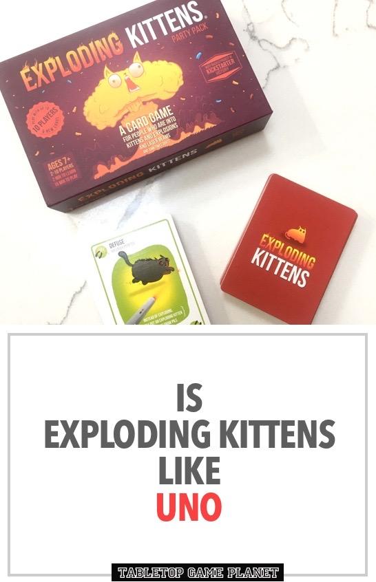 Exploding Kittens similar to UNO